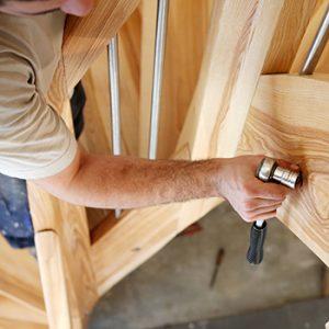 Wie lange dauert die Herstellung und Montage einer Treppe?