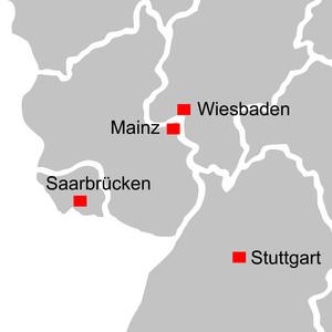 Treppenbauer in Saarland